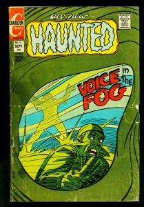 Haunted #14 1973- Charlton Horror Comics-Ditko cover- G