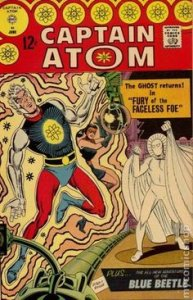 Captain Atom #4 (ungraded) Steve Ditko stock photo