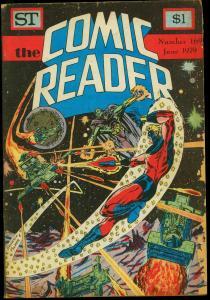Comic Reader #169 1979- Fanzine- Captain Marvel cover G