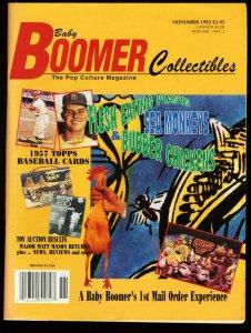 BABY BOOMER COLLECTIBLES 1993-#2-JOHNSON SMITH COMPANY FN