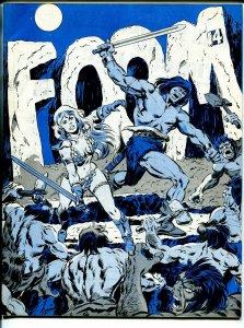 FOOM #14 1976-Marvel-Conan cover-Roy Thomas-Red Sonja-King Kull-fanzine-VF