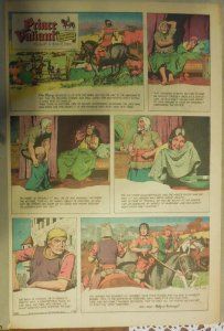 Prince Valiant Sunday by Hal Foster from 7/30/1967 Rare Full Page Size !