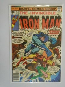 Iron Man #91 5.0 VG FN (1976 1st Series)
