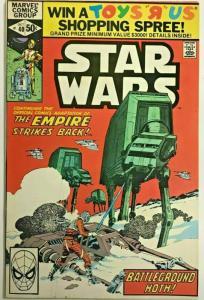 STAR WARS#40 FN 1980 EMPIRE STRIKES BACK MARVEL BRONZE AGE COMICS
