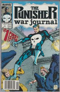 THE PUNISHER WAR JOURNAL #1 - BAGGED AND BOARDED - FIRST ISSUE!
