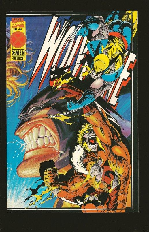 Marvel Comics Wolverine No 90 February 1995