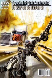 Transformers: Nefarious #5, NM- (Stock photo)