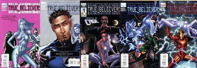 TRUE BELIEVERS (2008) 1-5  Paul Gulacy