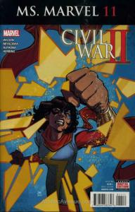 Ms. Marvel (4th Series) #11 VF; Marvel | save on shipping - details inside