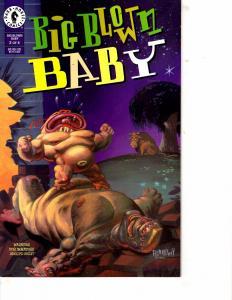 Lot Of 2 Comic Books Dark Horse Big Blown Baby #2 and Image Big Bruisers #1 MS17