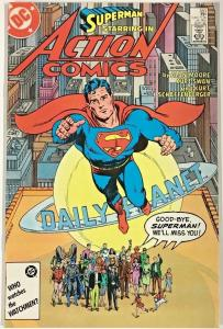 ACTION COMICS#583 VF 1986 'WHATEVER HAPPENED TO THE MAN OF TOMORROW' DC COMICS