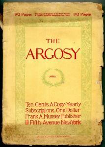 Argosy April 1898- Early Pulp fiction title G