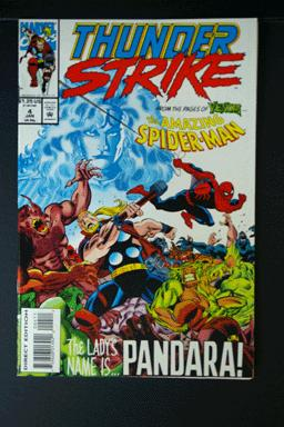 ThunderStrike #4 with The Amazing Spider-Man January 1994