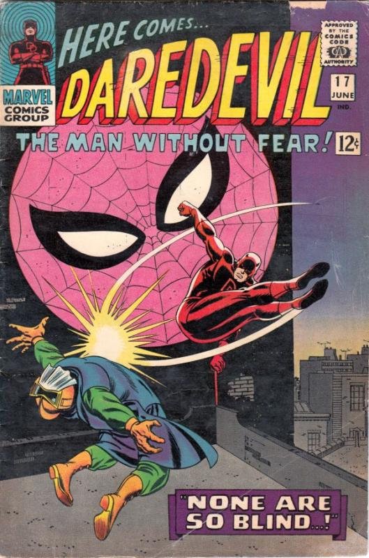 Daredevil #17 (Jun-66) GD/VG Affordable-Grade Daredevil