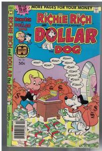 RICHIE RICH & DOLLAR THE DOG 10 VG-F Oct. 1979