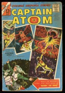 STRANGE SUSPENSE STORIES-CAPTAIN ATOM #76 1965-CHARLTON VG