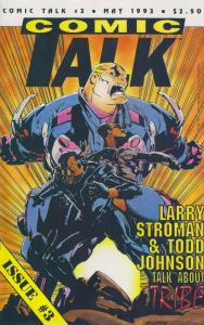 Comic Talk #3 VF; Buffalo | save on shipping - details inside