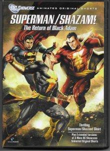 Superman/Shazam!: The Return of Black Adam DVD
