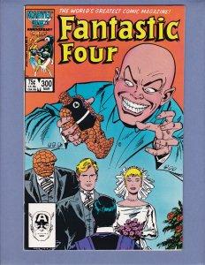 Fantastic Four #300 NM- Marvel 1987