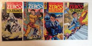 Zero Tolerance 1-4 Complete Near Mint Lot Set Run