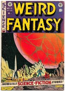 WEIRD FANTASY #13 (May1952) 7.0 FN/VF EC Original!  Wally Wood! Kamen! Orlando!