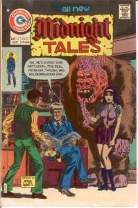 MIDNIGHT TALES 14 VF Sept. 1975 COMICS BOOK