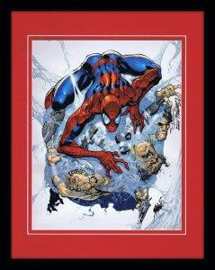 Amazing Spider-Man #30 11x14 Framed Poster Display Marvel J Scott Campbell