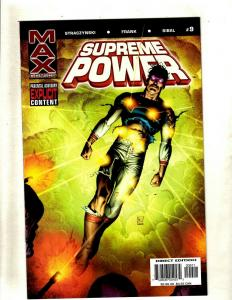 Lot of 10 Supreme Power Max Comic Books #9 10 11 12 13 14 15 16 17 18 HY7