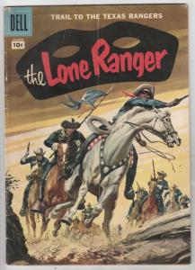Lone Ranger, The #105 (Mar-57) VG/FN Affordable-Grade The Lone Ranger, Tonto,...