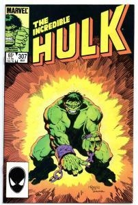 HULK #307, VF/NM, Incredible, Bruce Banner, Mignola, 1968 1985, Marvel