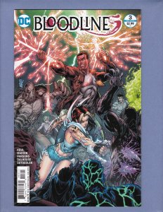 Bloodlines #3 NM-/NM Front/Back Cover Scans DC 2016