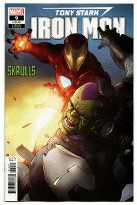 Tony Stark Iron Man #9 Skrulls Variant (Marvel, 2019) NM