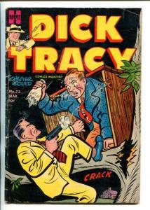 DICK TRACY  #73-1954-HARVEY-CHESTER GOULD ART-vg