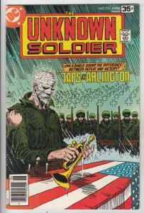 Unknown Soldier, The #216 (Jun-78) NM- High-Grade Unknown Soldier