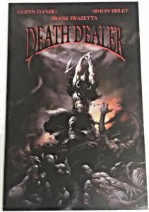 DEATH DEALER#1 VF/NM 1995 FRAZETTA COVER VEROTIK COMICS