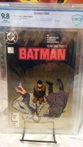 Batman #404 - CBCS 9.8 - 1st Copper Age Catwoman - Part 1 of Year One