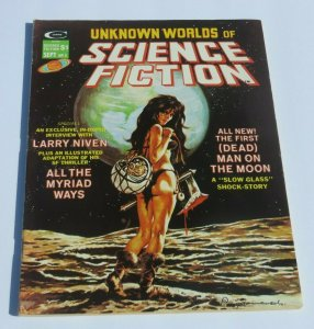 Unknown Worlds of Science Fiction #5 VG/FN 1975 Magazine Decapitated Head Cover