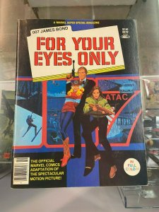Marvel Super SPecial 19 James Bond For Your Eyes Only VF