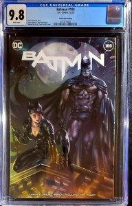 Batman #100 CGC 9.8  CE Parrillo Trade Variant  Joker War  catwoman