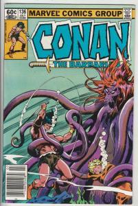 Conan the Barbarian #136 (Jul-82) NM- High-Grade Conan the Barbarian