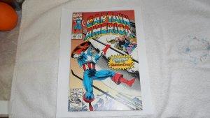 1992 MARVEL COMICS CAPTAIN AMERICA # 409