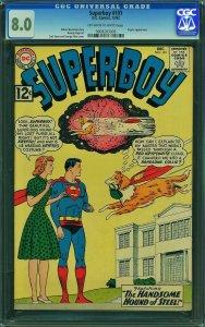 Superboy #101 (DC, 1962) CGC 8.0