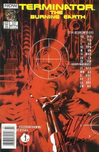 Terminator, The: The Burning Earth #5 (Newsstand) FN; Now | save on shipping - d