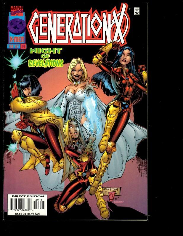 Lot of 12 Generation X Marvel Comics # 18 19 20 21 22 23 24 25 26 27 28 29 JF26
