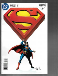 Lot of 12 DC Superman Comic Books # 58 59 60 61 62 63 64 65 66 67 68 69 GK45