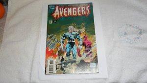 1995 MARVEL COMICS EARTHS MIGHTIEST HEROES AVENGERS # 382