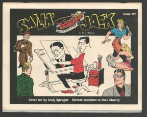 Smilin'Jack #9 1997-zack Mosley obit-Reprints newspaper comic strips from 19...