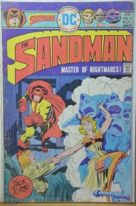 The Sandman #5 (1975) Jack Kirby !!! Nuff Said !!