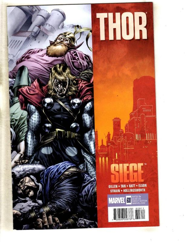 11 Journey Into Mystery 634 + Thor #600 602 603 605 606 607 608 609 610 612 MF20