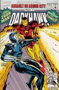 Darkhawk Annual #1, VF+ (Stock photo)